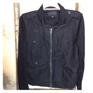 Banana Republic Navy jacket like new M